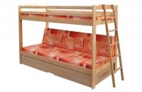 Patrová postel TRIO