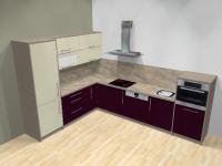 Kuchyně Fialová New