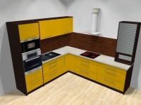 Kuchyně Žlutá