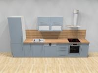 Kuchyně Modrá