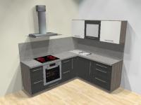 Kuchyně Graphit Grey
